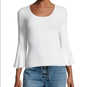 ALC Tadeo Fitted Bell Sleeve Buttery Soft Sweater